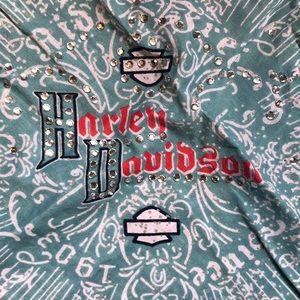 Harley-Davidson Accessories - Harley Davidson head scarf bandana authentic